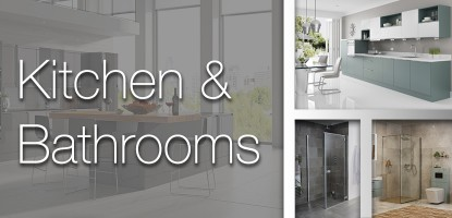 Kitchen and Bathrooms