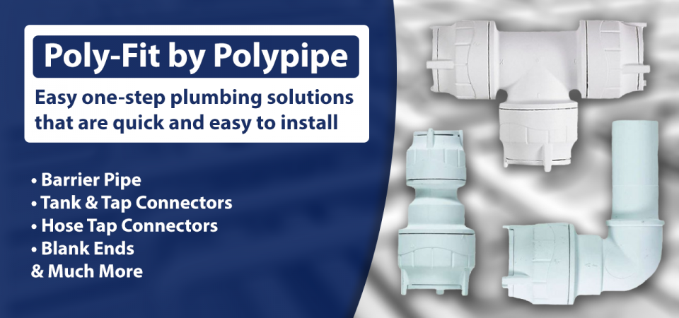 Push-Fit Polypipe easy one step plumbing solutions