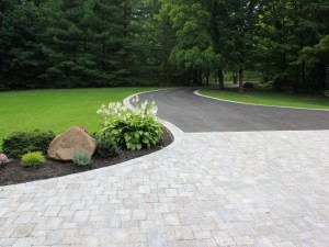 A welcoming driveway