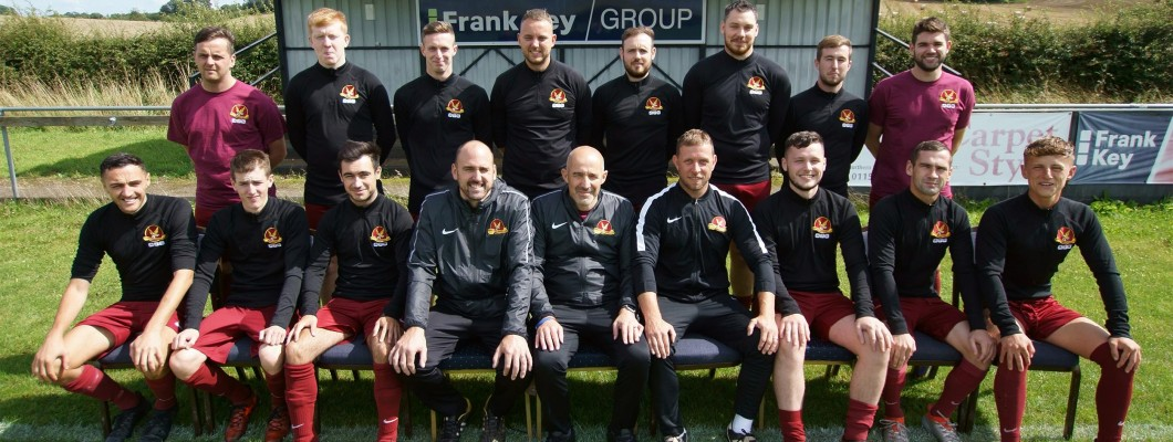 Frank Key Shoots for Success with Arnold Town Football Club