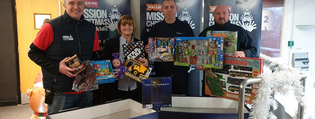 Frank Key Collects Christmas Gifts for Children Living in Poverty at Christmas