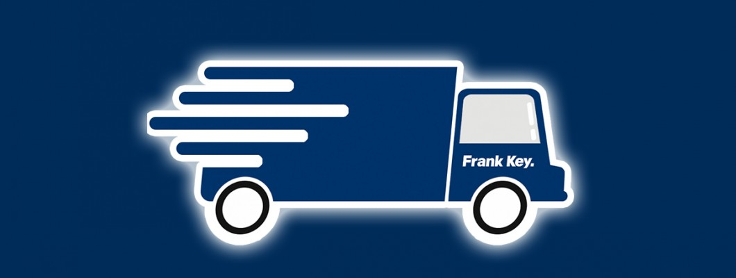 Delivery Option Added to Frank Key Website