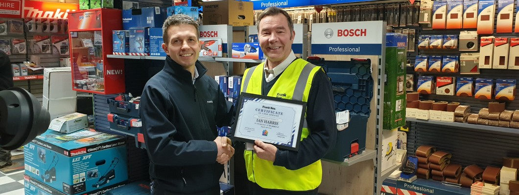 Pearl Anniversary for Nottingham Hire Manager