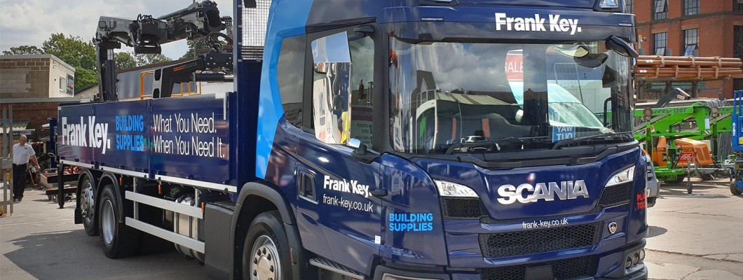 Frank Key Delivers with Midlands' First Five Star Safety Lorry