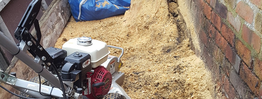 Stumped Landscaper Calls on Frank Key Tool & Plant Hire