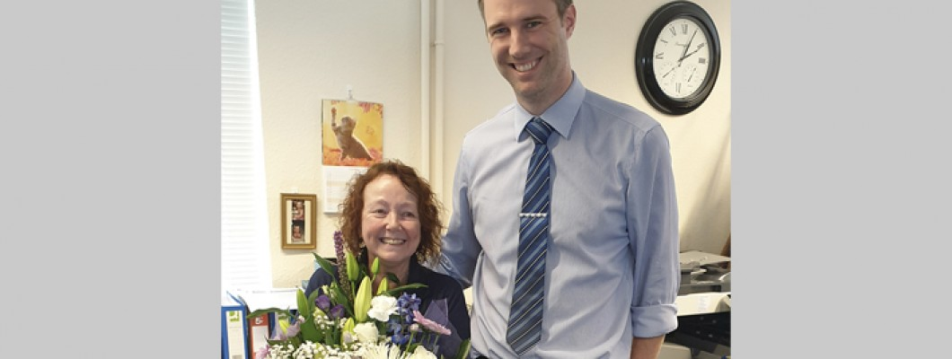 Star baker Wendy clocks up 20 years long service!