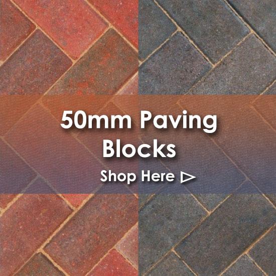 50mm Paving Blocks Nottingham