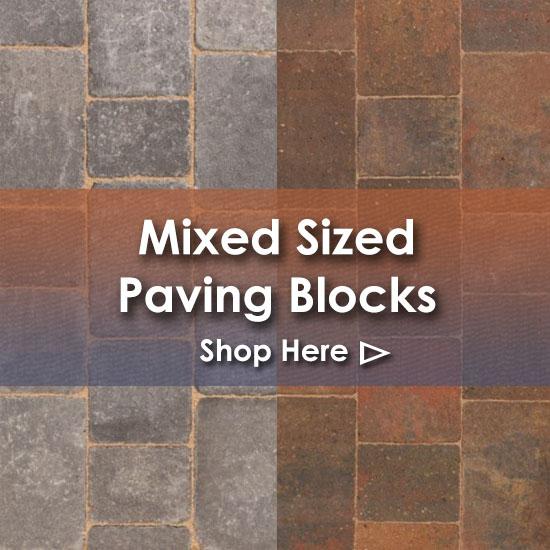 Mixed Sized Paving Blocks Nottingham