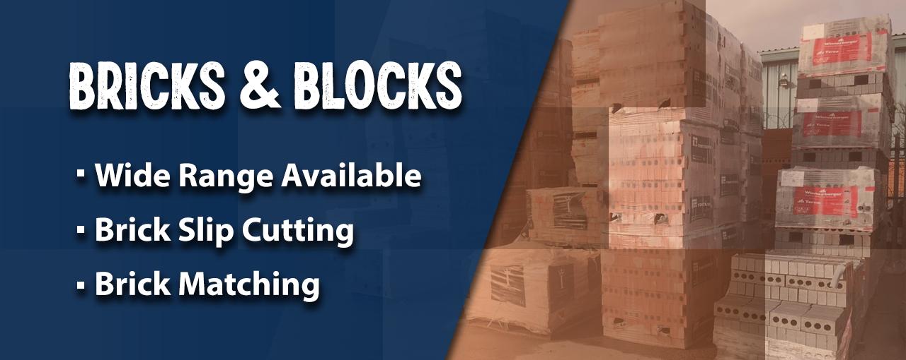 Brick and blocks banner