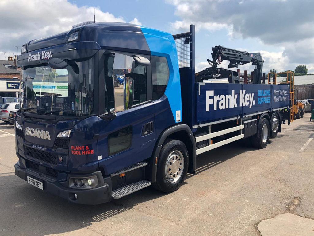 Frank Key Nottingham Truck