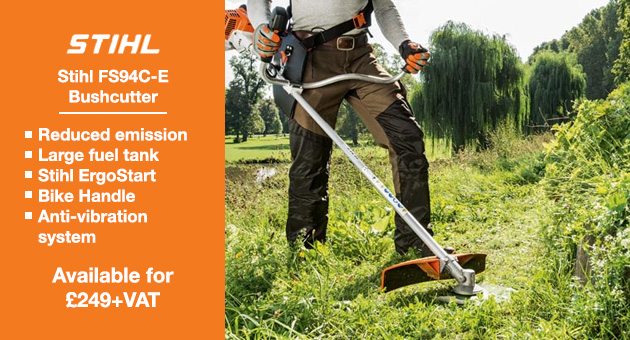 The Stihl FS94C-E Bushcutter is lightweight and efficient.