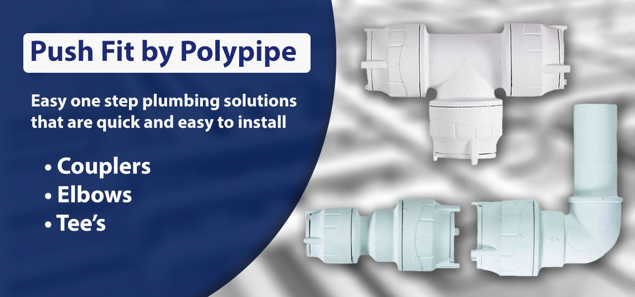 Push Fit Products By Polypipe