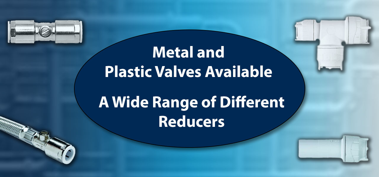 Metal and Plastic Valves and Reducers
