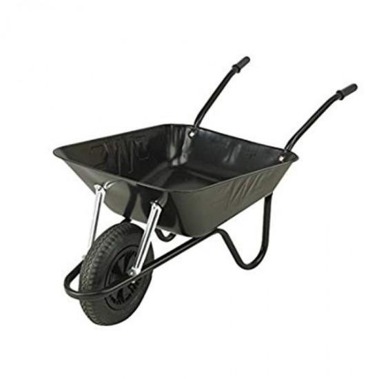 Easiload Black 85L Wheelbarrow