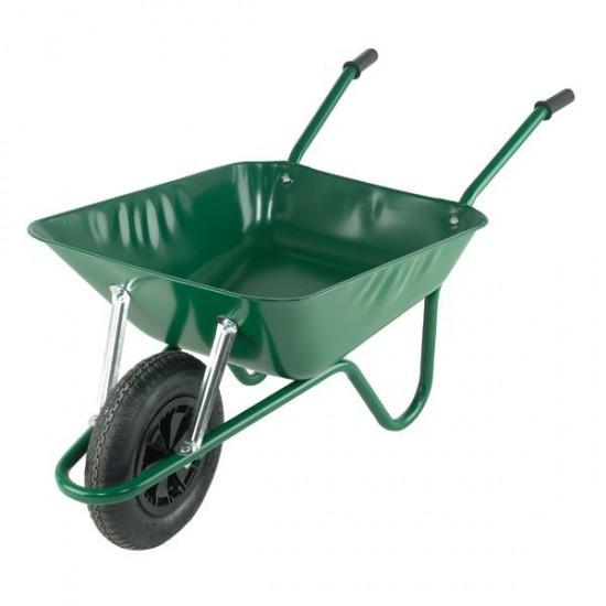 Wheelbarrow Easiload Green 85l