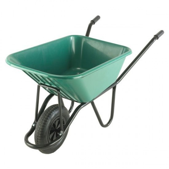 Wheelbarrow Monarch Polypropylene Green 120l