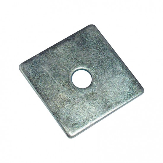 50 x 50 x 3mm Plate Washers With 12mm Hole