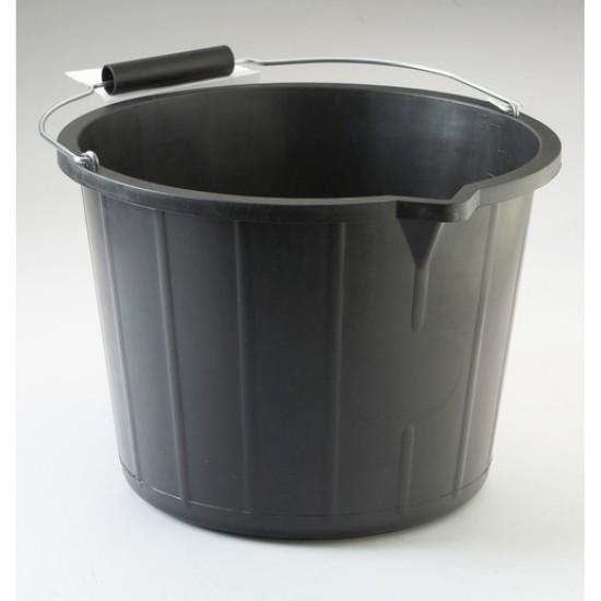 Heavy Duty Black Bucket