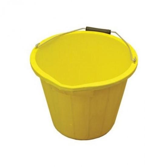 Stadium Yellow Bucket 3 Gallon / 14L