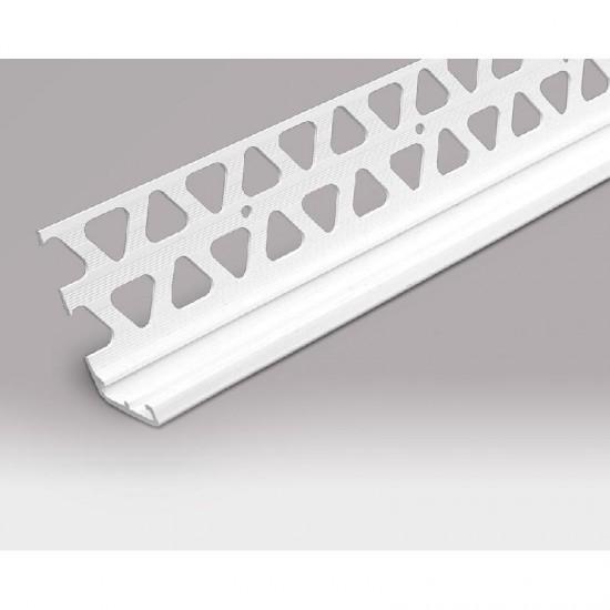 PVCU Bellcast Bead 15mm White 2.5m Long