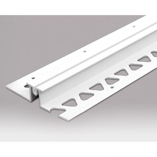 PVCU Movement Bead 10mm White 2.5m Long