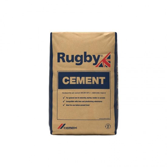 Cemex Rugby High Strength Cement - 25kg