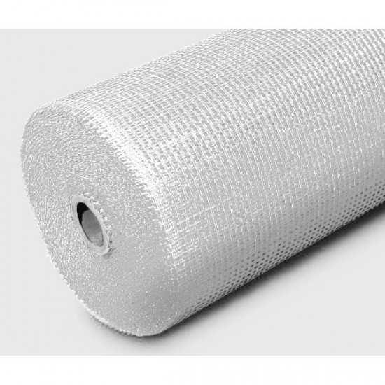 Reinforcing Fibre Mesh 50 x 1m Roll With 4 x 4mm Holes