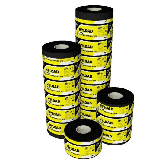 Hyload Housebuilder / Trade Damp Proof Course (DPC) 225mm x 20m Roll