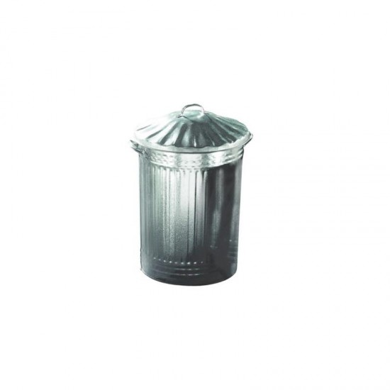 Dustbin Galvanised and Lid