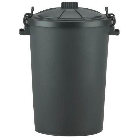 Dustbin Plastic and Lid 90L
