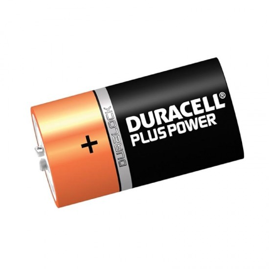 Duracell Battery D Pack of 2