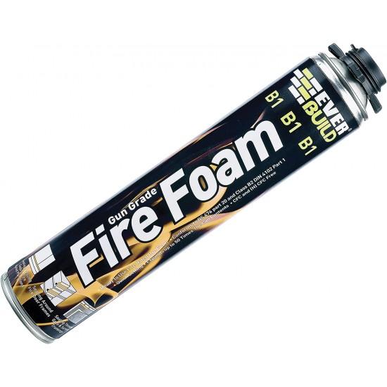 Everbuild Gun Grade B1 Fire Foam 750ml