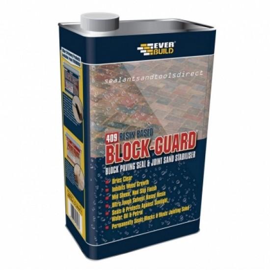 Everbuild 409 Blockguard Block & Paving Seal - 5L