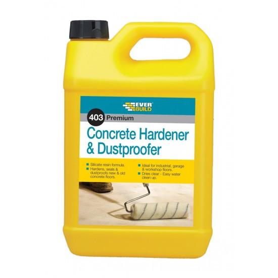 Everbuild 403 Concrete Dustproofer & Hardener - 5L