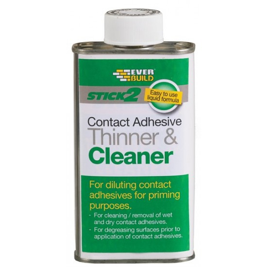 Everbuild Contact Adhesive Thinner and Cleaner 250ml