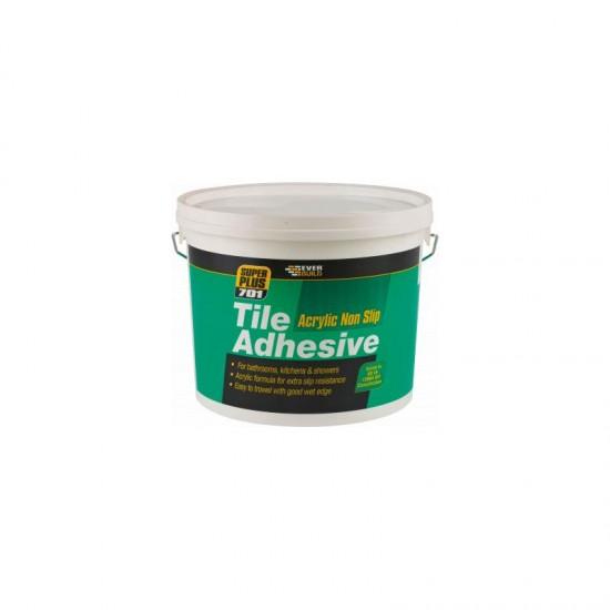 Everbuild 701 Non Slip Tile Adhesive - 10L / 14kg