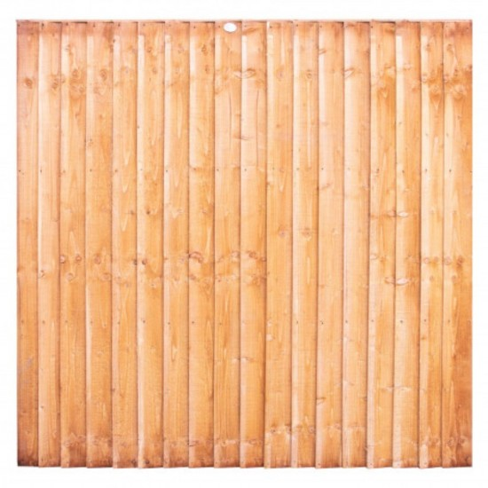 Premium Closed Board Fence Panel 1825mm x 1810mm (6ft x 6ft)