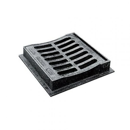Gully Grate Ductile 300 x 300mm Dished