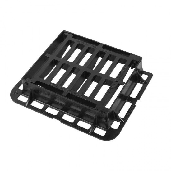 Clarkdrain Hinged Gully Grating and Frame 430 x 370mm (D400)