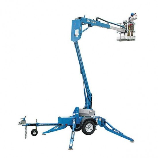 Boom Lift - Trailer Mounted 12m W/Height