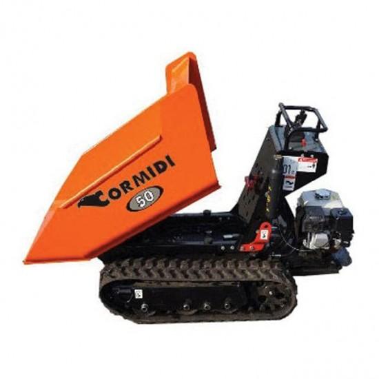 Tracked Dumper Mini (500kg) High Tip