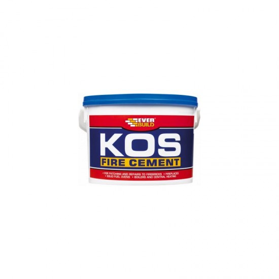 Fire cement black 500g tub Kos