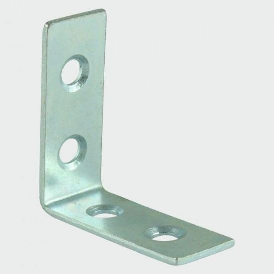 Corner Brace - BZP 100 x 100 x 22mm Pack 2