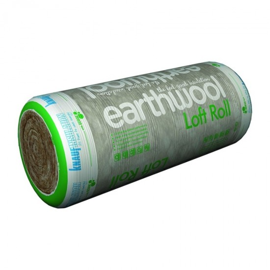 Knauf Earthwool Loft Insulation Roll 100mm 13.89m2
