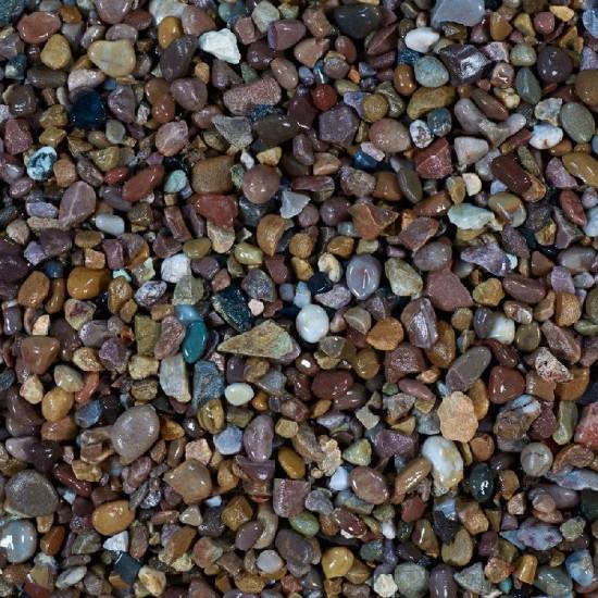 River Washed Gravel 10-4mm Poly Bag