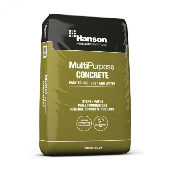 Hanson Multi-Purpose Concrete Plastic Bag 20kg