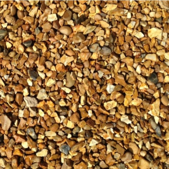 10mm Golden Gravel Bulk Bag