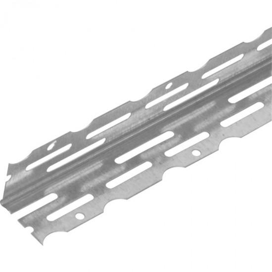 Galvanised Thin Coat Angle Bead 2.5mm x 2.4m