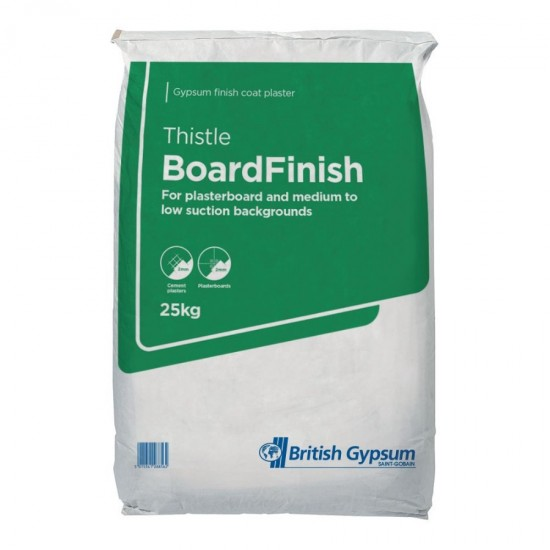 British Gypsum Thistle Board Finish 25kg