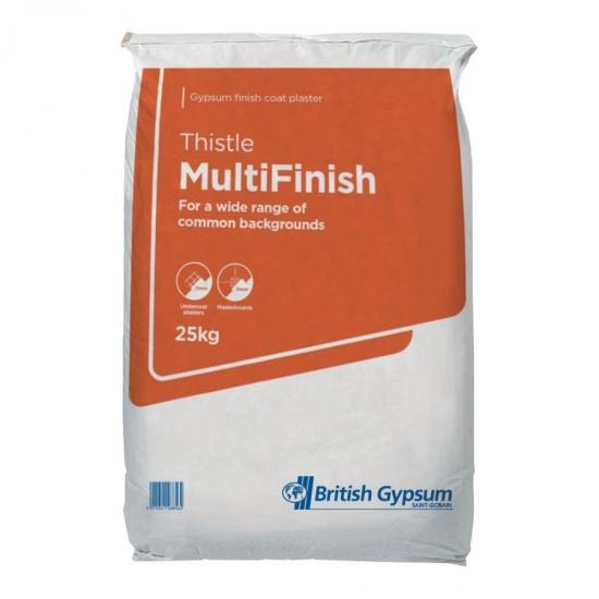 British Gypsum Thistle Multi-Finish 25kg